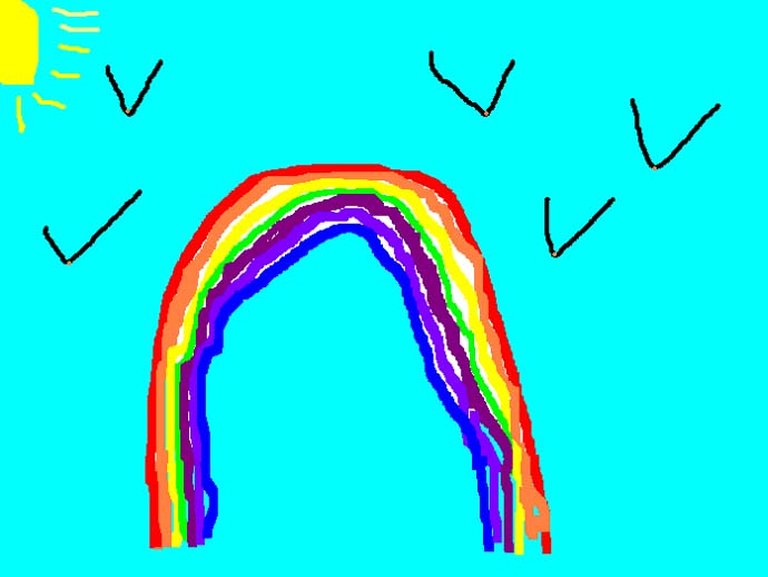 Wilcoxfamily Co Uk Drawings Lucy S Rainbow